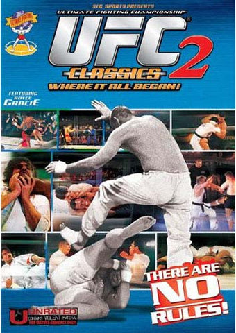 Ultimate Fighting Championship Classics - Vol. 2 DVD Movie