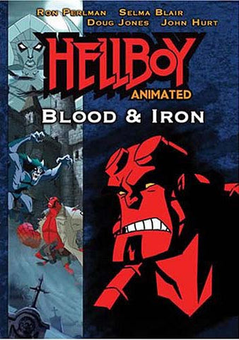 Hellboy - Blood and Iron (Animated) DVD Movie