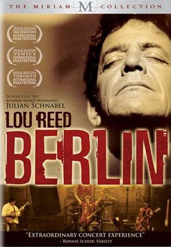 Lou Reed Berlin DVD Movie