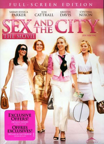 Sex and the City - The Movie (Full Screen Edition) (Bilingual) DVD Movie