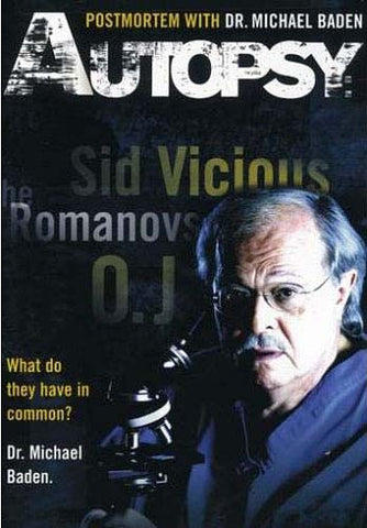 Autopsy: Postmortem with Dr. Michael Baden DVD Movie