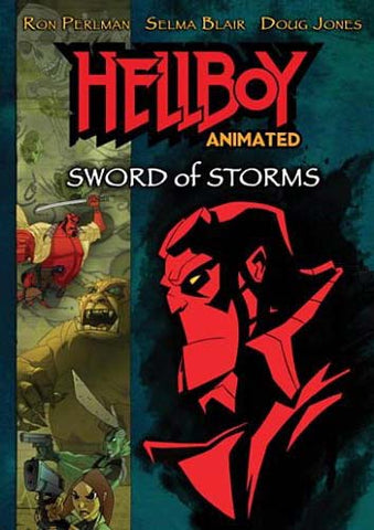 Hellboy - Sword of Storms (Animated) DVD Movie
