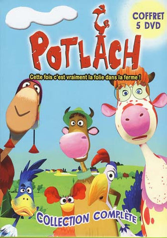 Potlach - Collection Complete (Coffret Five DVD)(Boxset) DVD Movie