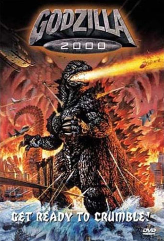 Godzilla 2000 DVD Movie
