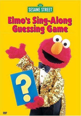 Elmo's Sing-Along Guessing Game - (Sesame Street) DVD Movie