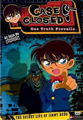 Case Closed - The Secret Life of Jimmy Kudo DVD Movie