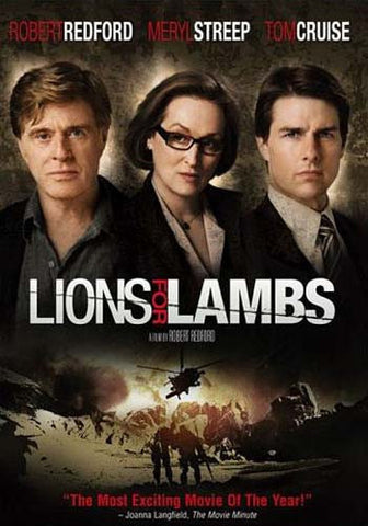Lions For Lambs (Full Screen Edition) DVD Movie
