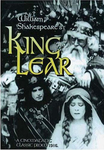King Lear - William Shakespeare's (Silent with musical score) DVD Movie