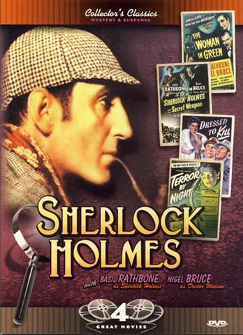 Sherlock Holmes: Woman in Green/The Secret Weapon/Dressed to Kill/Terror by Night (Boxset) DVD Movie