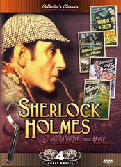 Sherlock Holmes: Woman in Green/The Secret Weapon/Dressed to Kill/Terror by Night (Boxset)
