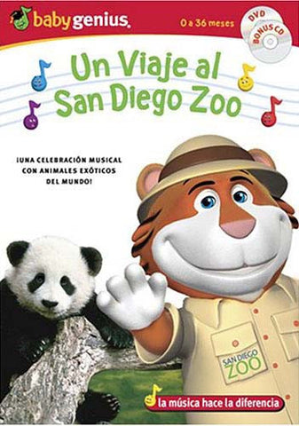 Baby Genius - A Trip to the San Diego Zoo (with bonus music CD) DVD Movie