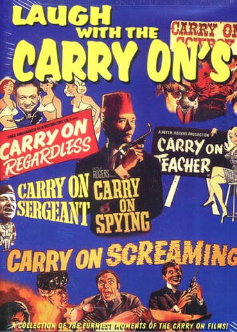 Laugh With The Carry On's DVD Movie
