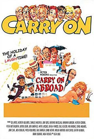 Carry On Abroad DVD Movie