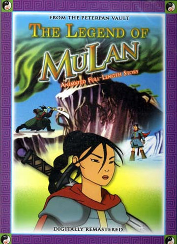 The Legend of Mulan - Animated Full Length Story DVD Movie
