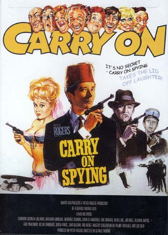 Carry On Spying DVD Movie