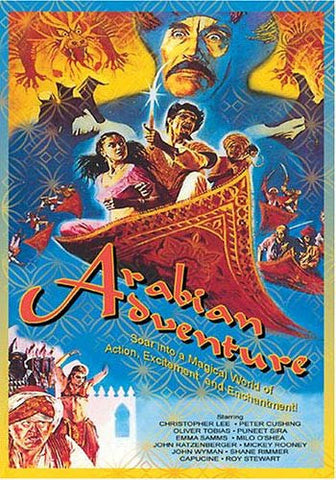 Arabian Adventure DVD Movie
