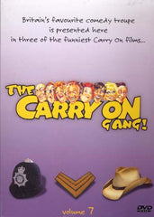 The Carry On Gang - Vol.7 (Carry On Cowboy/Carry on Sergeant/Carry On Costable) (Boxset)
