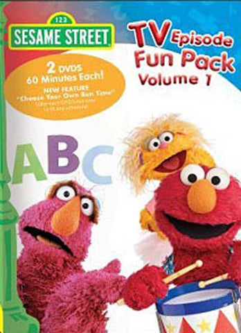 TV Episode Fun Pack, Vol. 1 - Sesame Street DVD Movie