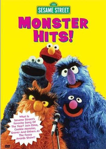 Monster Hits! - (Sesame Street) DVD Movie