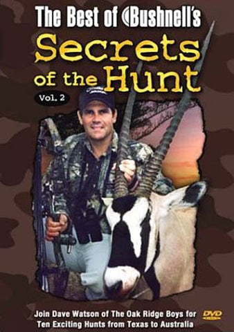 The Best of Bushnell s Secrets of the Hunt, Vol. 2 DVD Movie
