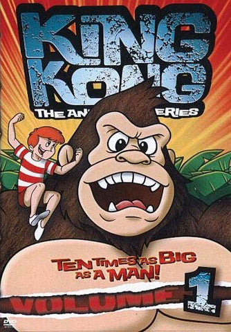 King Kong - The Animated Series (Volume -1) DVD Movie