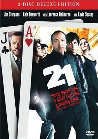 21 (Two-Disc Deluxe Edition) DVD Movie