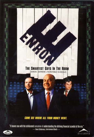 Enron - The Smartest Guys in the Room DVD Movie