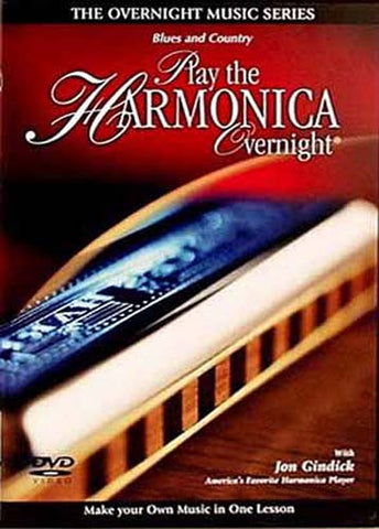 Play the Harmonica Overnight DVD Movie