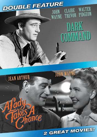 Dark Command / A Lady Takes A Chance (Double Feature) DVD Movie