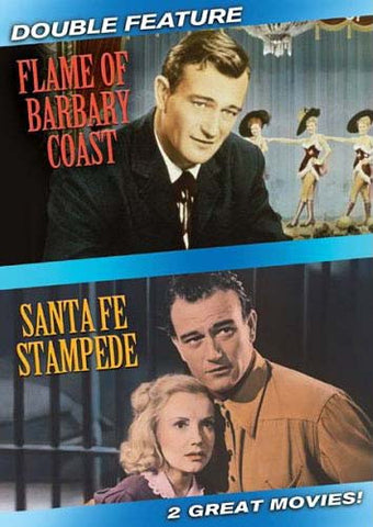 Flame Of Barbary Coast / Santa Fe Stampede (Double Feature) DVD Movie