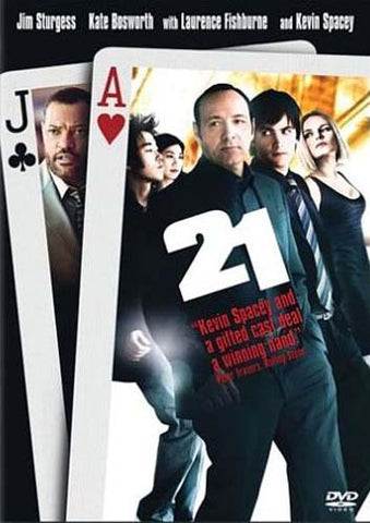 21 (Single-Disc Edition) DVD Movie