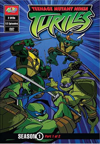 Teenage Mutant Ninja Turtles - Season 1 - Part 1 of 2 (12 Episodes) DVD Movie