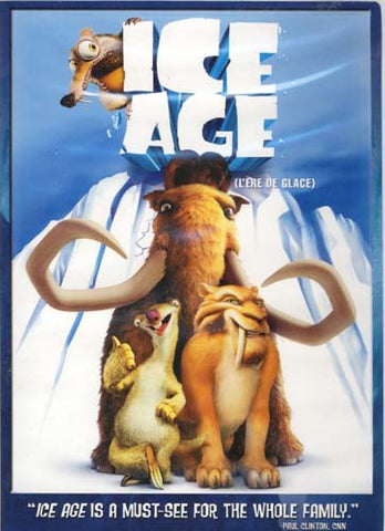Ice Age (Bilingual) DVD Movie
