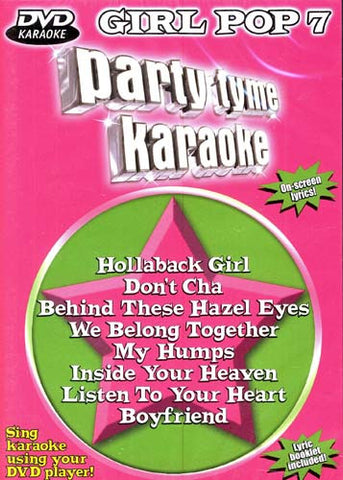 Party Tyme Karaoke: DVD Girl Pop, Vol. 7 DVD Movie