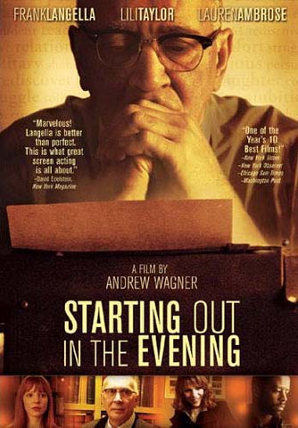 Starting Out in the Evening DVD Movie