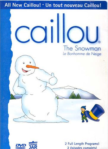 Caillou - The Snowman (Bilingual) DVD Movie