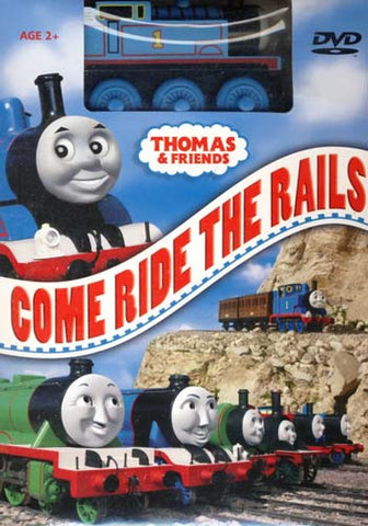 Thomas and Friends - Come Ride the Rails (With Toy) (Boxset) DVD Movie