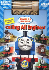 Thomas and Friends - Calling All Engines! (Limited Edition With Wooden Train Toy) (Boxset)