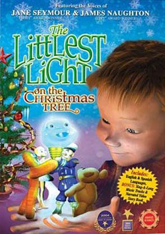 The Littlest Light on the Christmas Tree (blue cover) DVD Movie