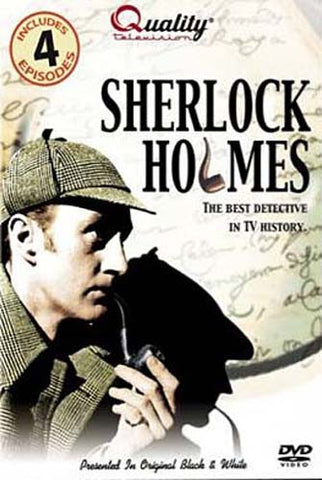 Sherlock Holmes-Includes 4 Episodes(Quality Television) DVD Movie