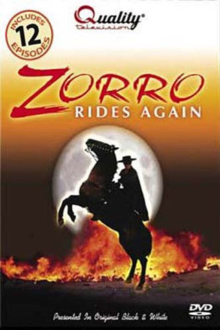 Zorro Rides Again DVD Movie