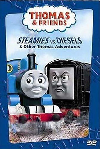 Thomas and Friends - Steamies vs. Diesels and Other Thomas Adventures DVD Movie