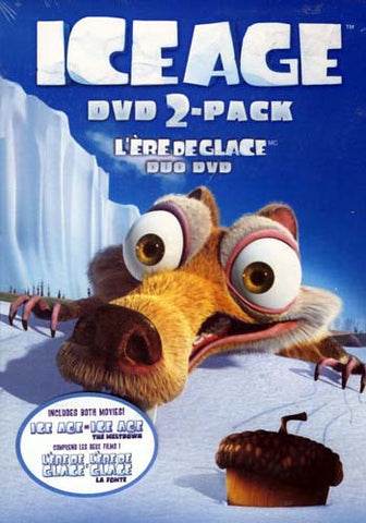 The Ice Age Collection (Ice Age/ Ice Age - The Meltdown) (Boxset) (Bilingual) DVD Movie