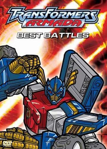 Transformers Armada - Best Battles DVD Movie