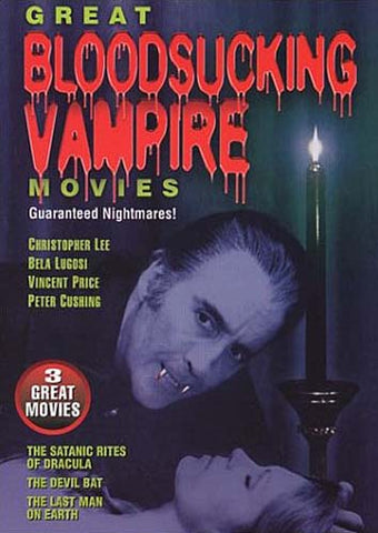 Great Bloodsucking Vampire Movies DVD Movie