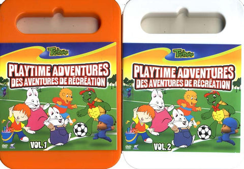Treehouse 2 DVDs - Playtime Adventures / Des Aventures de RУЉcrУЉation Vol.1 - 2 (2 Pack) (Boxset) DVD Movie