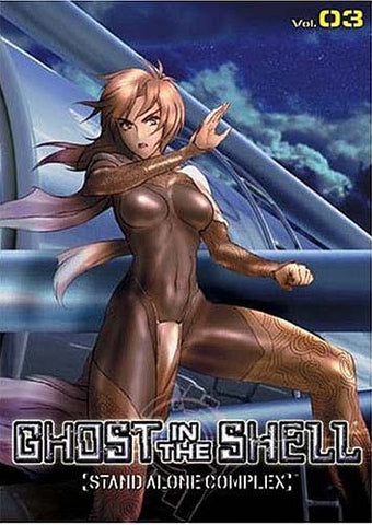 Ghost in the Shell - Stand Alone Complex - Volume 03 DVD Movie