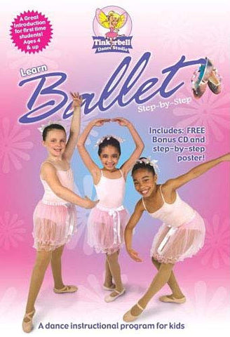 Tinkerbell Dance Studio: Learn Ballet Step-By-Step DVD Movie