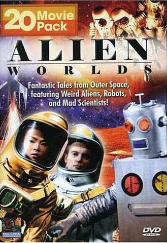 Alien Worlds 20 Movie Pack (Boxset) DVD Movie