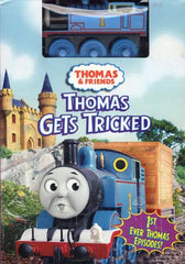 Thomas and Friends - Thomas Gets Tricked (With Wooden Train) (Boxset)